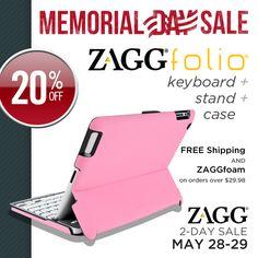 ZAGG Memorial Day Sale: Save 20% on a ZAGGfolio