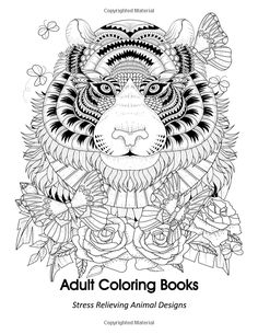 Amazon Adult Coloring Book Animal Designs 9781944575717