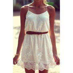 Купить товар2015 женщины лето кружева секси смазливая использовать платье вышитые платья белый в категории Платьяна AliExpress.                                                                        2015 летних женщин кружева сексуально