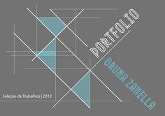 Projeto Gráfico para portfolio de arquitetura.