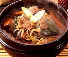 Yookgaejang -Spicy Beef & Scallion Soup - 육개장