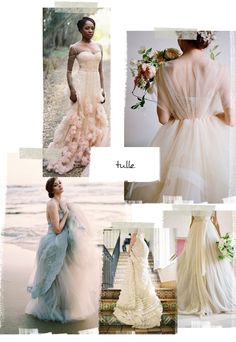 Our Favorite Wedding Dress Trends For 2015 | Verily #bridal #weddingdress #tulle