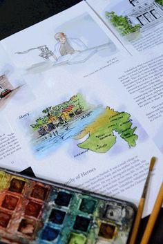 Sardar Patel Illustration Book on Behance