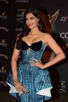 Sonam Kapoor | Sansui Colors Stardust Awards 2015 Photo #735