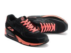 pretty nice 52f1d 29151 Nike Air Max 90 Online Svart Rosa Joggesko for Herre