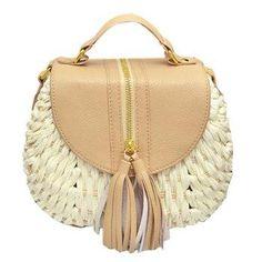 #DressLily - #Dresslily Straw Design Crossbody Bag For Women - AdoreWe.com