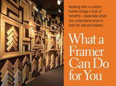 Custom Framing: What a Framer Can Do For You - Artist's Network #artbusiness #artists