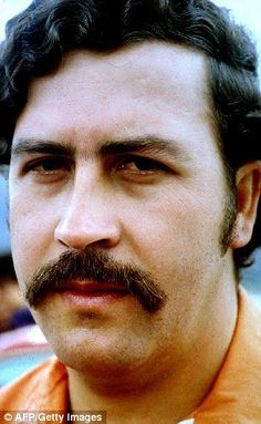 Pablo Escobar headed the notorious Medellin drug cartel until his death in 1993