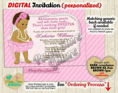Frog Princess Baby Shower Invitation Vintage por PartyStoreGalore