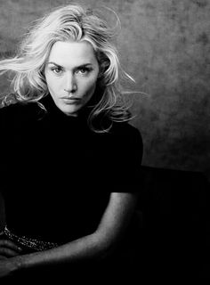 Kate Winslet: Black And White Photos Kate Winslet, Pretty People, Beautiful People, Beautiful Women, Black And White Portraits, Black And White Photography, Actrices Hollywood, Peter Lindbergh, Best Actress
