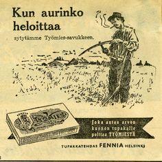 Työmies Tupakkatehdas Fennia