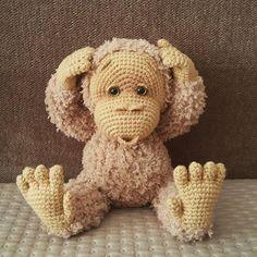 crochet monkey amigurumi