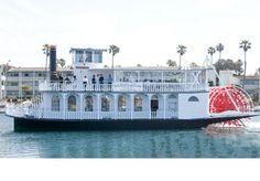 A & M Charters Presents Scarlett Belle River Boat – Santa Barbara/Ventura – Reception and Ceremony Locations