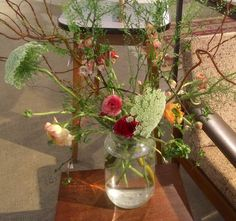 Bouquet I made for Hutspot van Woustraat Amsterdam