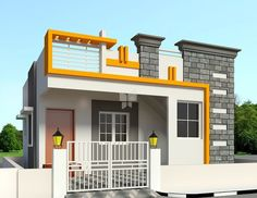 Modern classic house design modern house design ideas exterior home classic e result for elevations of House Front Wall Design, Single Floor House Design, House Outside Design, Village House Design, Bungalow House Design, Small House Design, Modern House Design, Indian House Plans, My House Plans