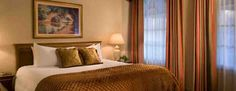 Executive King guest room at The Willows Hotel Chicago, a boutique hotel in north east Lincoln Park, Chicago