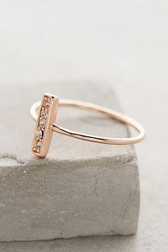 More Rose Gold! Fortaleza Ring - anthropologie.com
