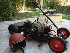 Custom Go Kart Radio Flyer Wagon Custom Radio Flyer Wagon, Radio Flyer Wagons, Maytag Washing Machine, Pull Toy, Mini Bike, Go Kart, Interesting Stuff, Rat, Engineering