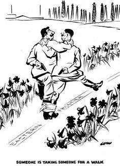 David Low WWII Cartoon