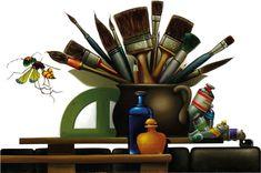 Výsledek obrázku pro libor vojkůvka obrazy Mugs, Tableware, Art, Art Background, Dinnerware, Tumblers, Tablewares, Kunst, Mug