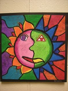 WHAT'S HAPPENING IN THE ART ROOM?: Aztec suns