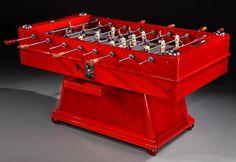 Table football machine