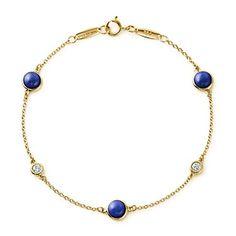Tiffany & Co.   Item   エルサ・ペレッティ™ カボション バイ ザ ヤード ブレスレット ラピス ラズリ 18K ゴールド   Japan