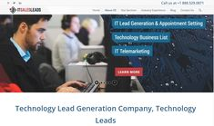 Lead generation company specialized for IT Product and Services providers. Generating qualified IT leads and appointments. It Service Provider, Lead Generation, Appointments, Technology, Learning, Tech, Studying, Tecnologia, Teaching
