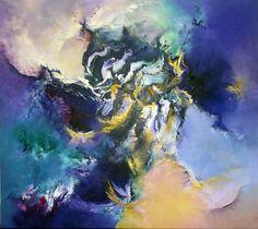 """""""Imaginario"""" - Gabriela Winicki - Acrílico sobre tela - 80 cm x 90 cm - www.esencialismo.com"""