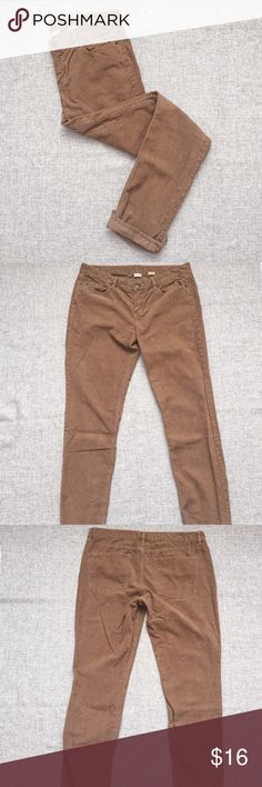J. Crew City Fit corduroy boyfriend style pants. J. Crew City Fit corduroy boyfriend style pants. Super soft material! Great staple piece for the fall. If you would like modeled photos, just ask! Prices are firm. J. Crew Pants Straight Leg