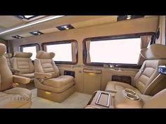 Mercedes Benz Sprinter SVD1010 VIP Design by TRIMO - YouTube