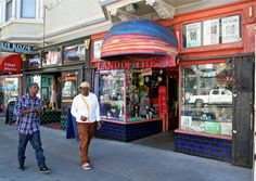 Haight Street in San Francisco. Times Square, San Francisco, Street, Photos, St Francis, Roads