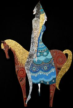 Irina Charny Mosaics. What whimsey