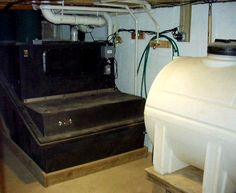Residential composting tank