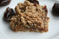Date Squares with a Hint of Orange (Refined Sugar Free)