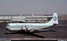 September 19, 1959 at IDL. Pan Am Boeing 377-10-26 Stratocruiser.