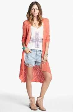 Free People 'Boxer' Cardigan available at #Nordstrom