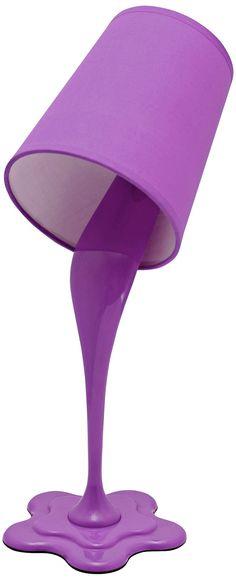 Lampe de table - Purple Woopsy Lamp!
