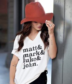 Matt Mark Luke John T-Shirt – Merchant31