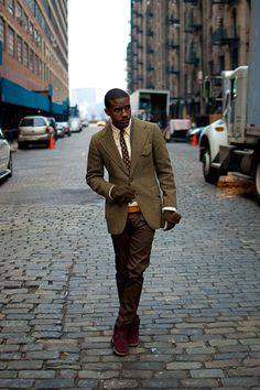 youngcotton:      adventuresofmrfantastic:          jesuisperdu:              bryceluxe:                  STREET ETIQUETTE                 How to Wear Tweed  Style For Men  www.yourstyle-men.tumblr.com