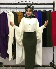 Muslim Fashion, Hijab Fashion, Fashion Dresses, Turkish Hijab Style, Hijab Styles, Mode Hijab, Skirt Outfits, Skirts, Fashion Show Dresses