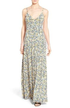 MICHAEL MICHAEL KORS 'Chiltington' Print Jersey Maxi Dress (Regular & Petite). #michaelmichaelkors #cloth #