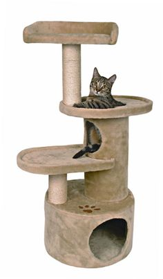 cat furniture cat condos cat trees cat tree condo tower - Tap the link now to see all of our cool cat collections! Cat Tree House, Cat Tree Condo, Cat Condo, Kitty House, Cat Activity Centre, Raising Kittens, Cat Tree Plans, Cat Gym, Diy Cat Tree