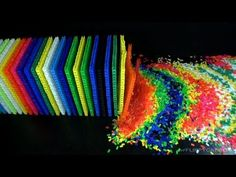 60,000 Dominoes Falling Down at Once
