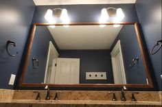 Color and light make this bathroom a beautiful space. Cobblestone Bathroom, PH87. Follow the link for the full home photo gallery.