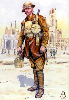 Corporal, 1st Battalion The Hertfordshire Regiment