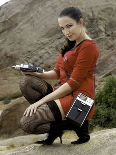 And You Thought Star Trek Was Just For Nerds! 32 Of The Hottest Trekkie Cosplay Girls Cosplay Outfits, Cosplay Girls, Star Trek Crew, Star Trek Uniforms, Star Trek Cosplay, Star Trek Images, Star Trek Characters, Nylons, Theme Star Wars