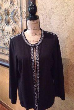 Banana-Republic-Long-Black-Open-Front-Cotton-Cardigan-Sweater ...