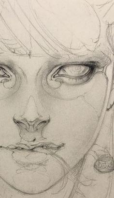 pencil drawings - Best 11 peyeyo sube videosssssssssssssssssssssss SkillOfKing Com Anatomy Drawing, Anatomy Art, Figure Drawing, Painting & Drawing, Drawing Sketches, Art Drawings, Art Du Croquis, Photographie Portrait Inspiration, Arte Sketchbook