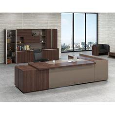 Office Table Design, Modern Office Design, Office Furniture Design, Home Office Decor, Diy Furniture, Bank Interior Design, Modern Home Offices, Luxury Office, Office Interiors